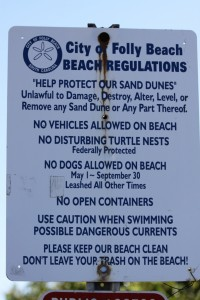 Folly Beach Rules
