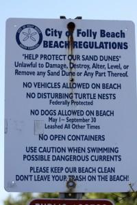 Folly Beach Rules
